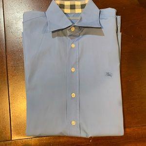 burberry brit long sleeve dress shirt
